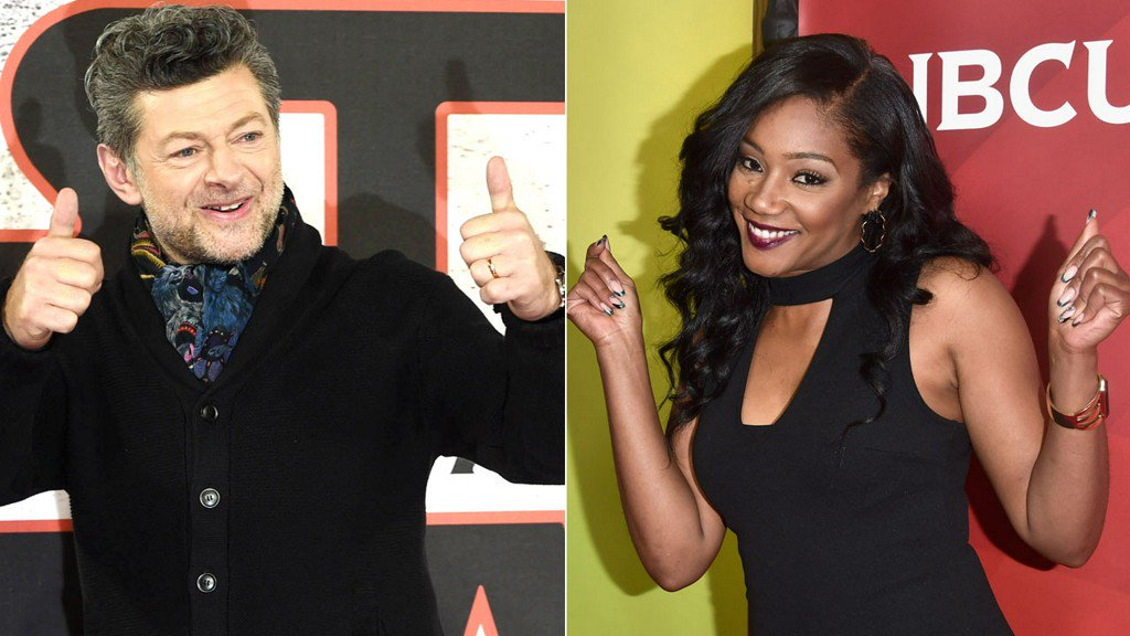 Tiffany Haddish and Andy Serkis are hosting the #OscarNoms today! Here's how to watch: https://t.co/eC1uP5BfWr