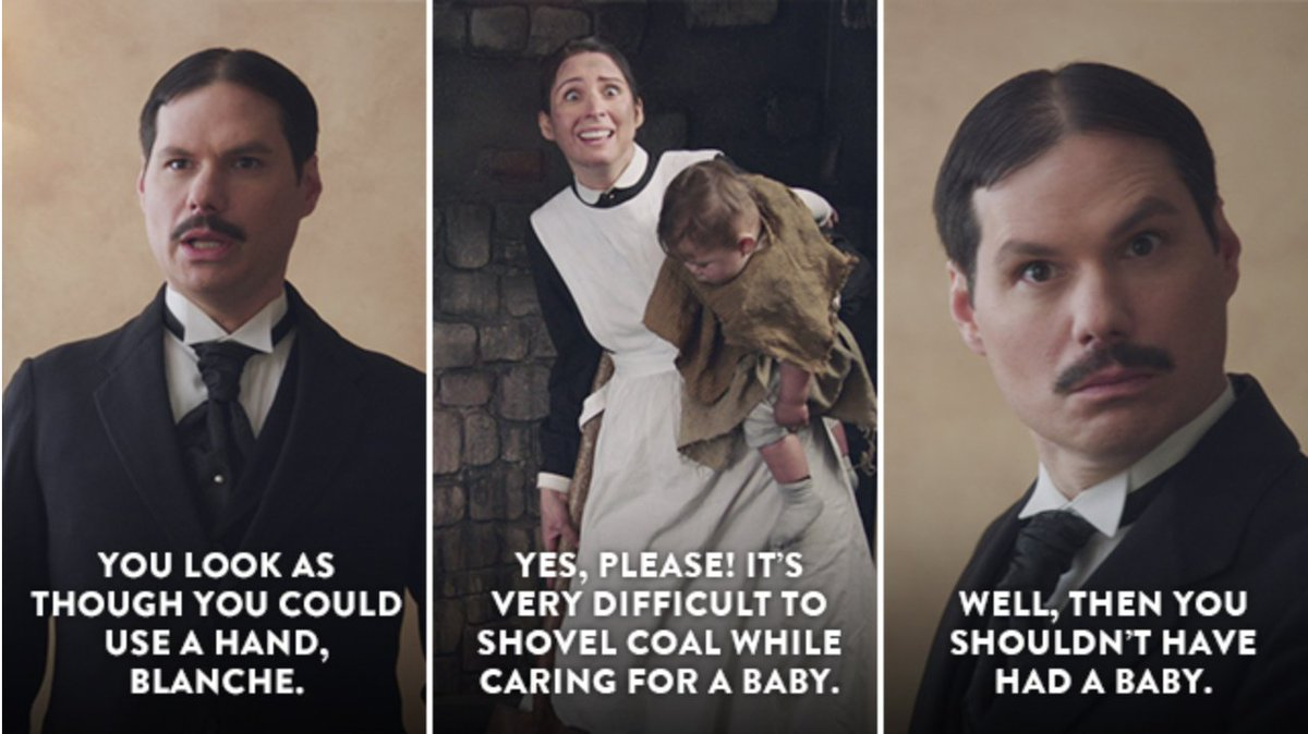 The finest programmed television returns this eve! #AnotherPeriod on Comedy Central. 10:30 EST and other times wherever lesser people reside.
