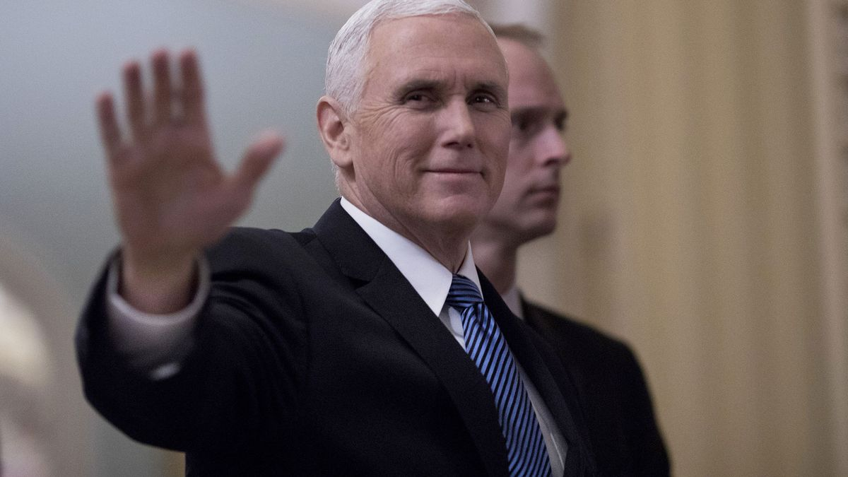 """Mike Pence says a """"balanced approach"""" is needed on DACA https://t.co/XYEBphXFaD"""