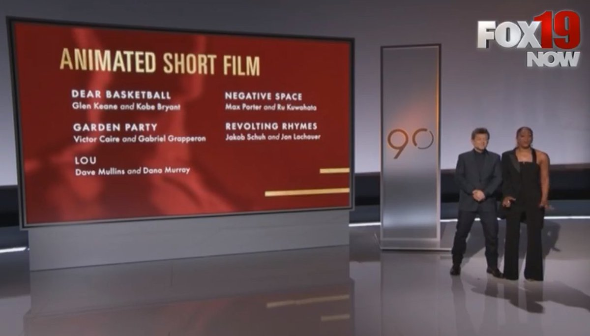 WATCH LIVE: Nominations for the 90th annual Academy Awards https://t.co/co3ZuzzYZa
