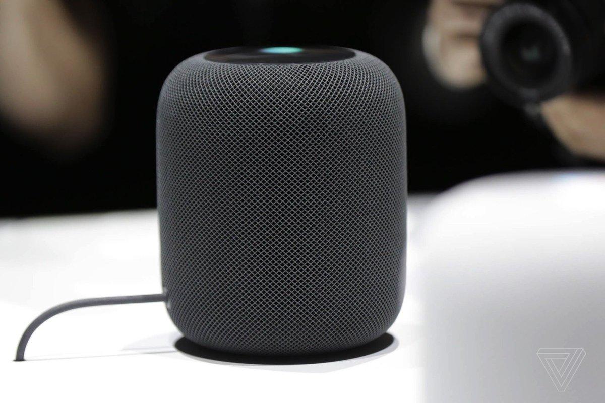 Apple will release HomePod February 9th, pre-orders start Friday https://t.co/LqGNv9PLt1