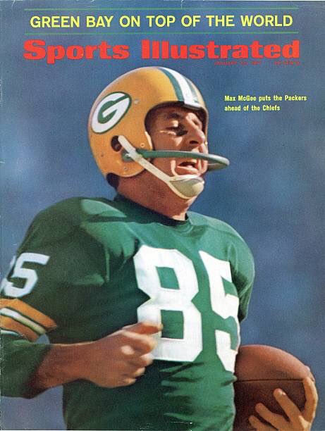 On cover of SI on this day in 1967: Packers backup WR Max McGee, who was so sure he wouldn't play in Super Bowl I, he stayed out all night & came to the stadium with a hangover. Was put in & scored 2 TD's. Post career: Co-founded Mexican chain Chi-Chi's, made millions.