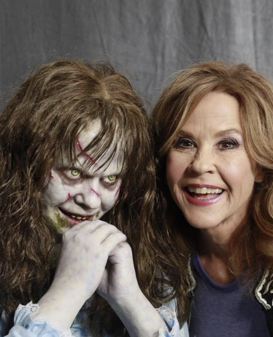 Happy birthday to one of my favorite and one of the reasons I m a little fucked up, Linda Blair