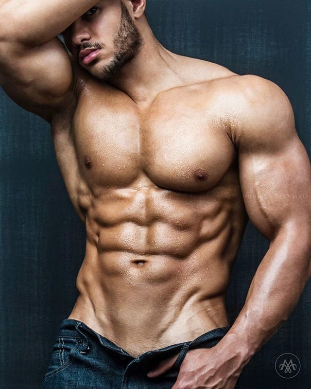 Half Naked Sexy Body Muscular
