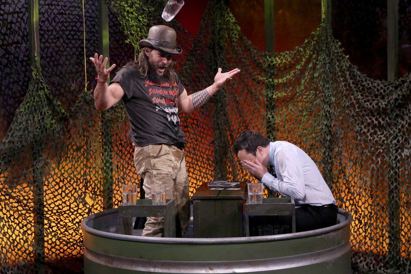 Jason Momoa gets really, really into beating @jimmyfallon at party games https://t.co/6s4z9zwPj1