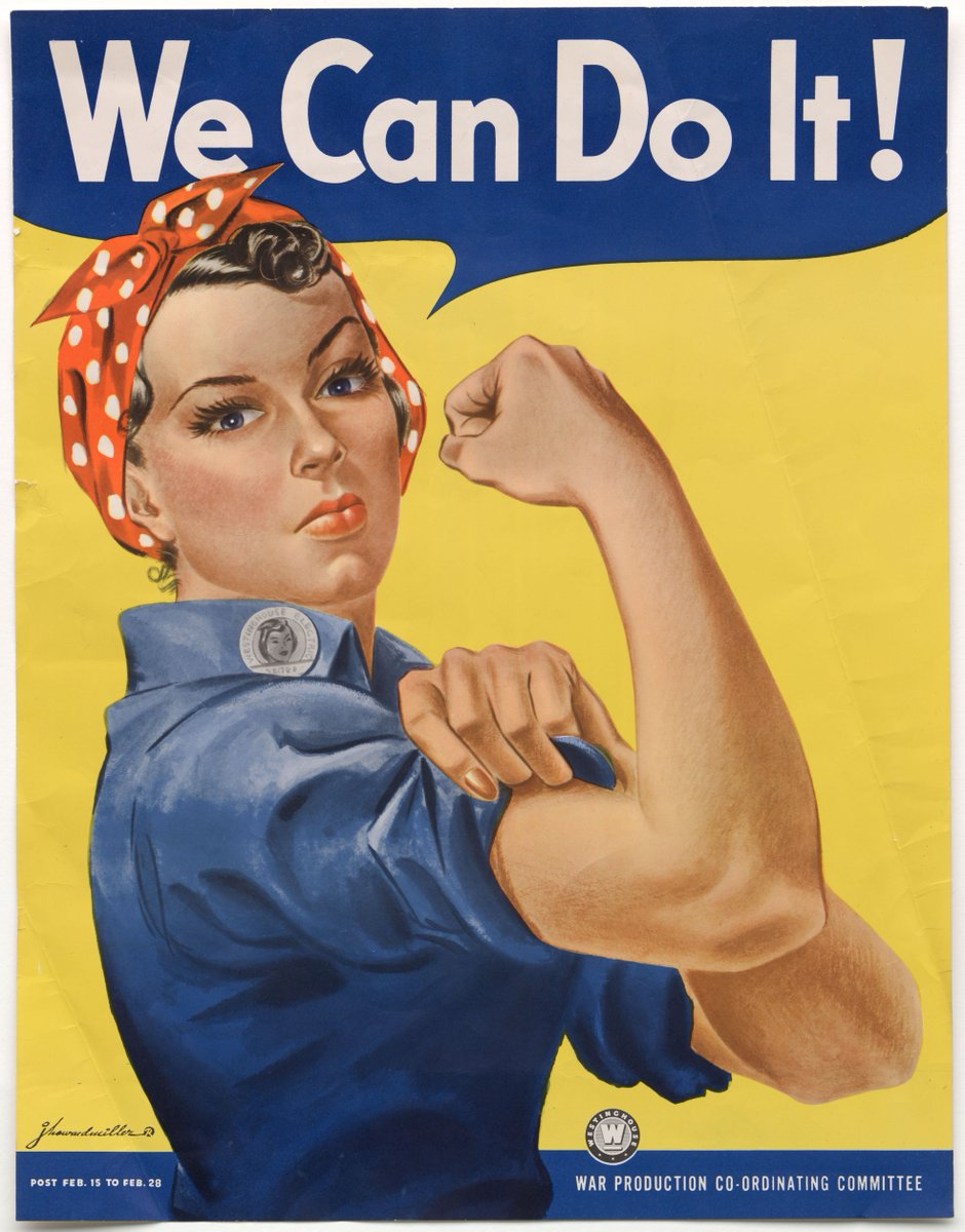 Morre a norte-americana heroína de cartaz símbolo do feminismo https://t.co/PiVc6c8FNR