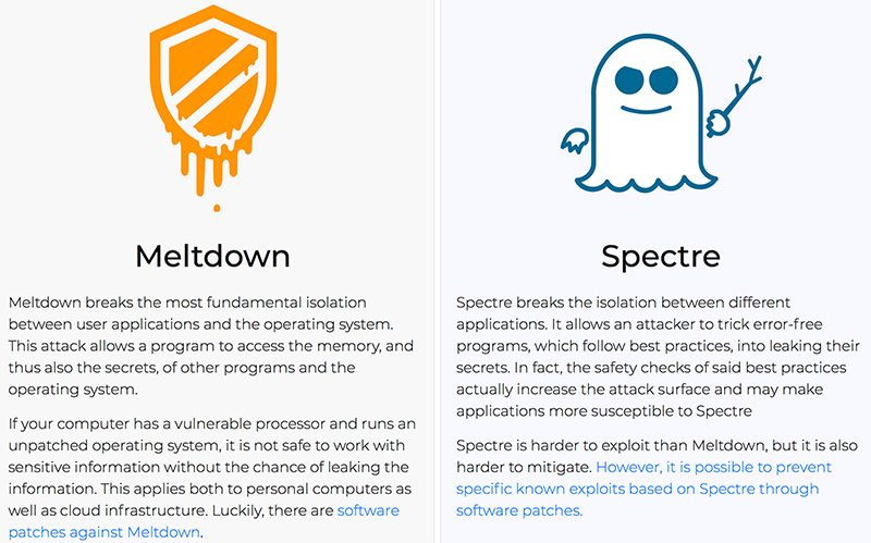 Apple Addresses Meltdown and Spectre in macOS Sierra and OS X El Capitan With New Security Update https://t.co/d4IizFRjch by @julipuli