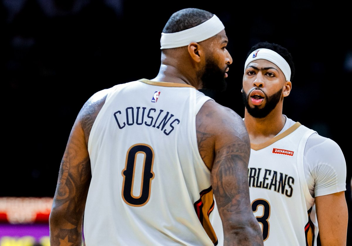 Basketball Reference On Twitter Anthony Davis And Demarcus Cousins
