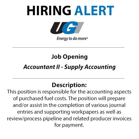 test Twitter Media - Accounting jobs are on the rise! Don't miss your chance to be a part of our team at UGI. Apply today: https://t.co/3qNzJLkwQH #JobOpportunity #GetIntoEnergy https://t.co/MSfNsL6LZk
