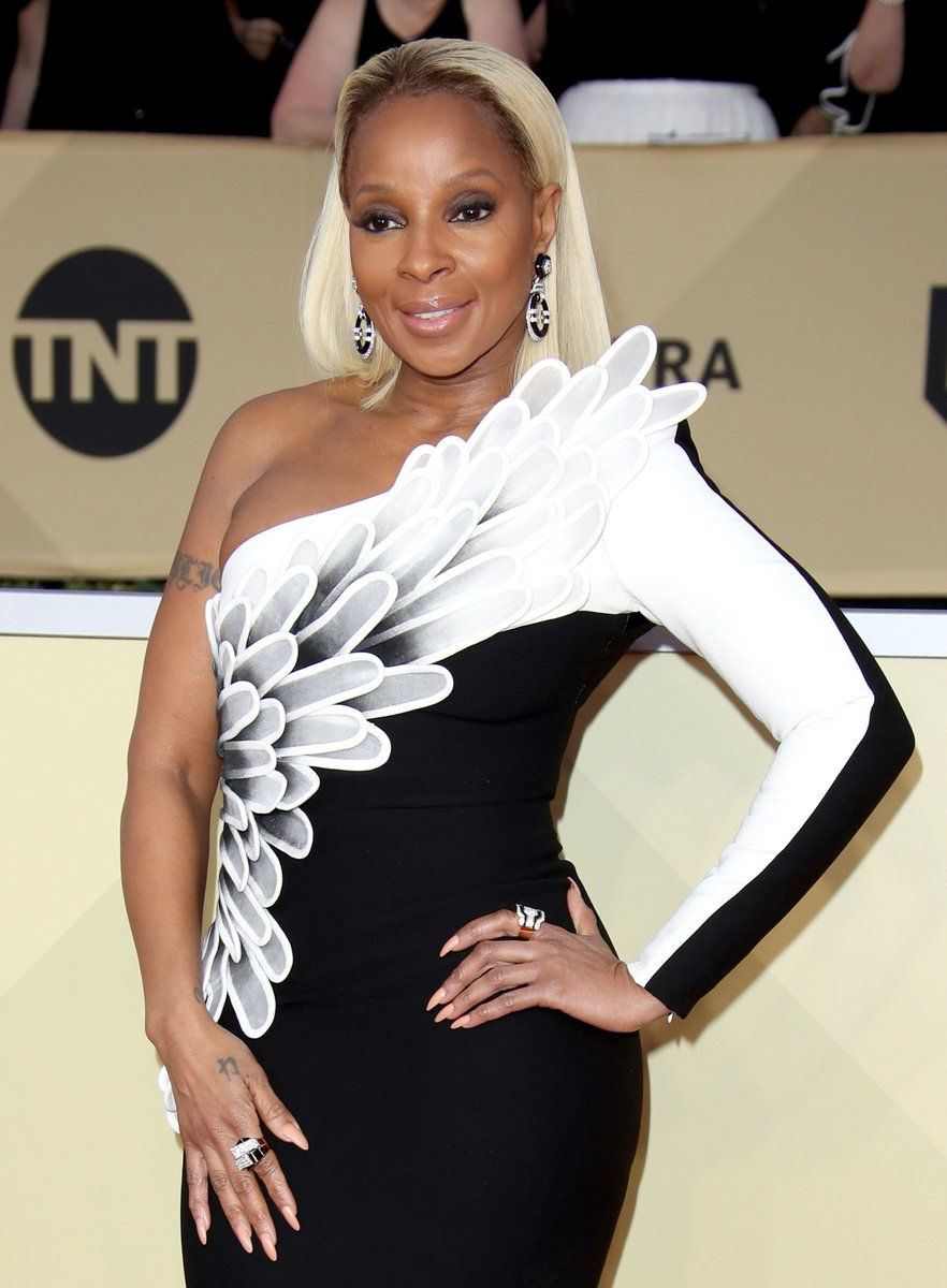 Congratulations to @maryjblige, the first person ever to be nominated for Best Original Song and Best Supporting Actress at the #Oscars 🙌 Check out the full list of #OscarNoms here: https://t.co/ThlkzyNJ6f (📷 @GettyImages)