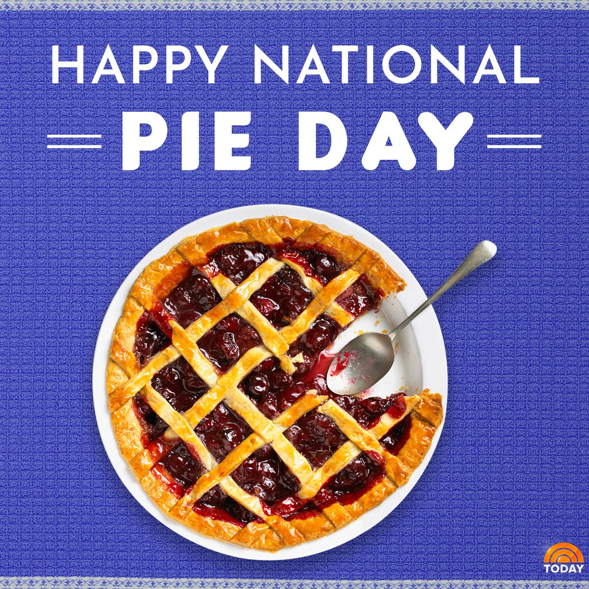 Grab yourself a slice of heaven because it's #NationalPieDay!