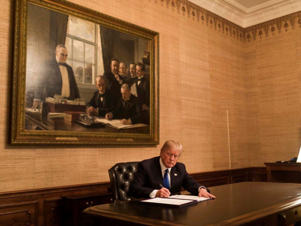 President Trump signs funding bill to end shutdown, immigration debate continueshttp://abcnews.go.com/Politics/congress-agrees-fund-government-weeks-immigration-debate-continues/story?id=52522136
