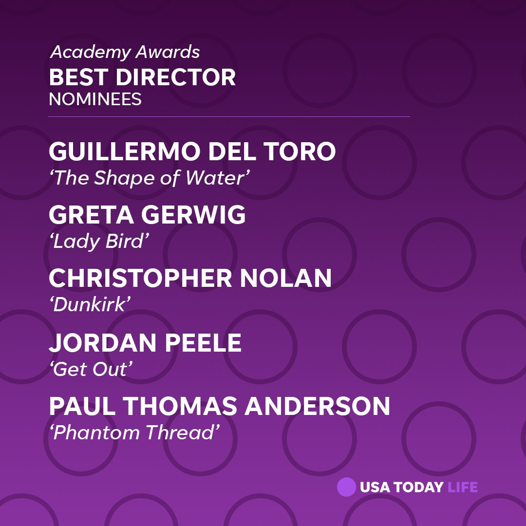 It was a better day for women in Hollywood: Women's names turned up in categories where they have been rarely seen, such as best cinematographer and best director. https://t.co/DveMGCvngf #Oscars #OscarNoms