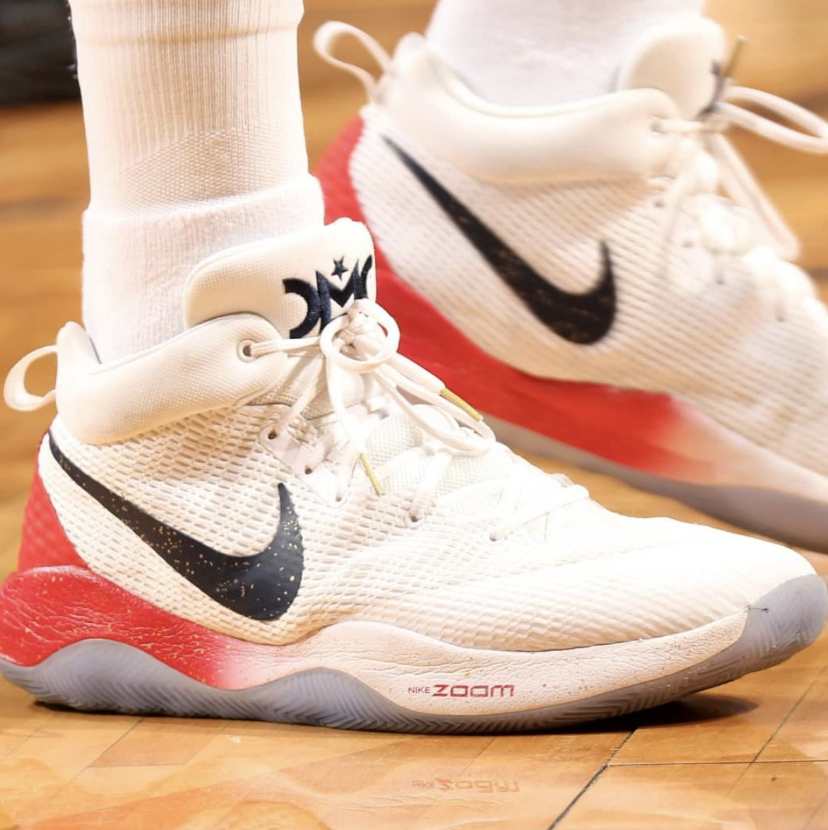 853a7508398 demarcus cousins delivered a historic stat line while wearing the nike zoom  rev 17