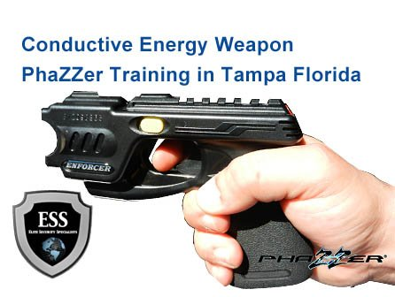 Conductive Energy Weapon Training in Tampa January 28 at ESS Global Corp https://t.co/POmOvigsRg  #phazzer #CEW #Security #Tampa #TampaBay #Clearwater #StPete #StPetersburg #Florida https://t.co/JoIOQ0XeUF