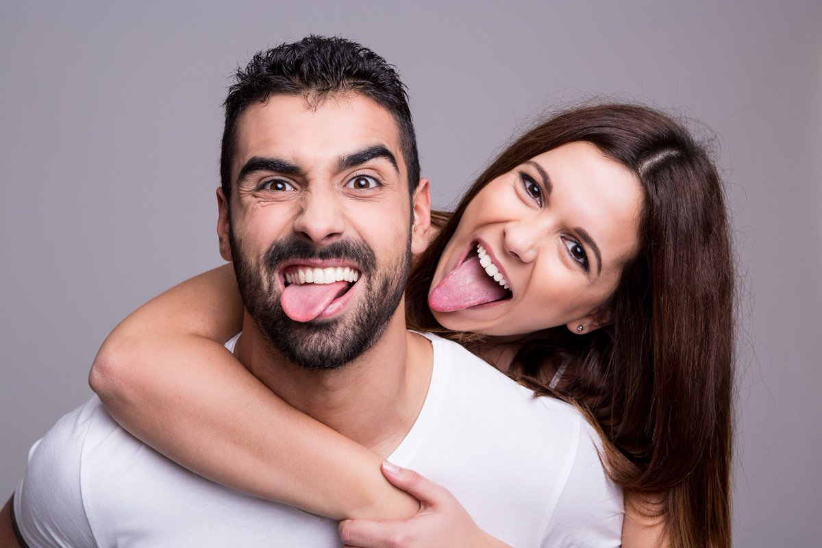 Открытки, картинки прикольные счастливые пары