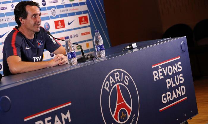 Emery sobre Mbappé: 'Se sente bem e quer jogar.' #SelecaoSporTV   Via: @PSGbrasil