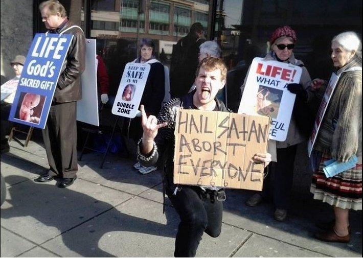 Satanic Temple Sues to Overturn Pro-Life Law It Claims Violates Its Religious Beliefs https://t.co/ziSZvJnSCS #prolife #tcot