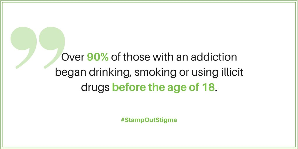 Start Conversations Early About Drugs >> Stamp Out Stigma On Twitter National Drug And Alcohol Facts Week