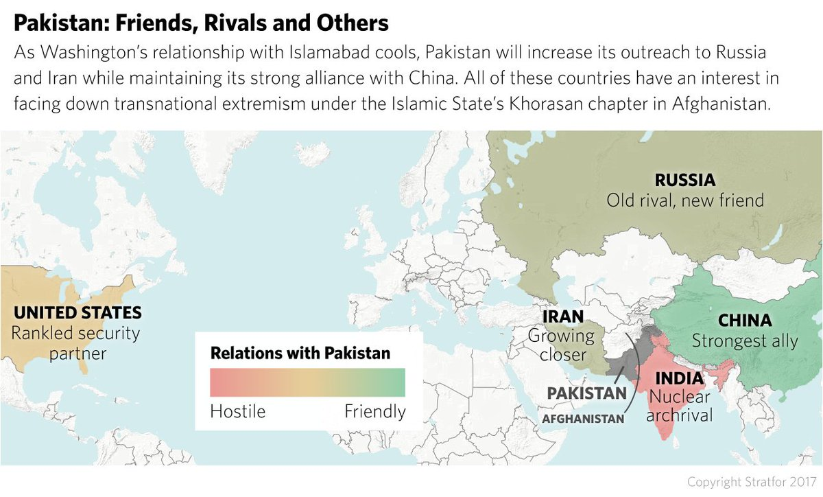#Pakistan's PM said his gov't has military's backing to 'seize control' of 2 religious charities the US calls terrorist fronts. It's likely part of an approach to show cooperation to stave off US pressure over its militant proxy strategy in #Afghanistan. https://t.co/7r0AUM0ZvA