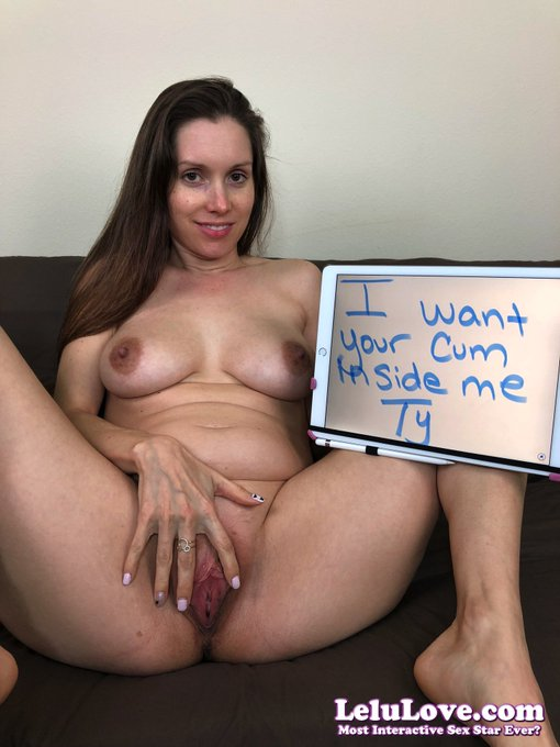 I want your #cum inside me!! :) #creampie (get YOUR custom pic here: https://t.co/lm1yXGN4ga ) Member