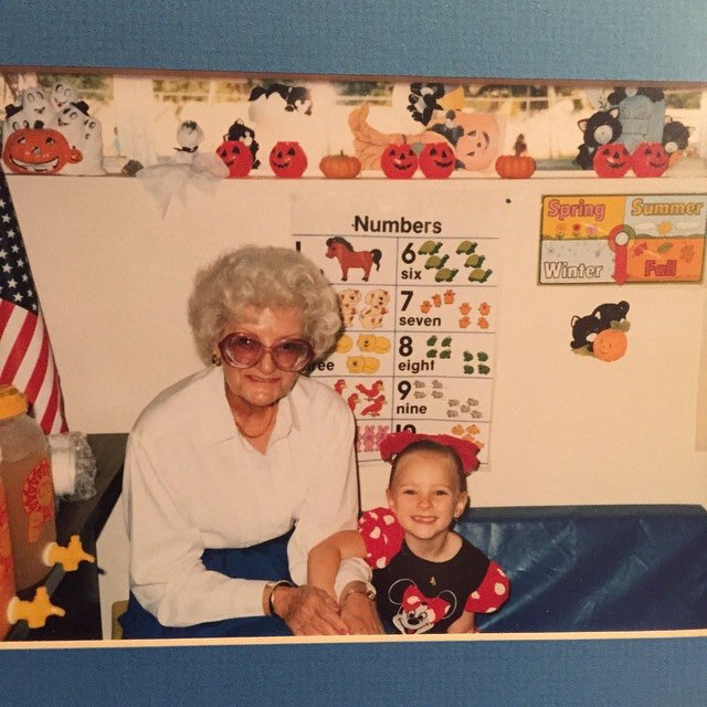 "Meghan Mccain Update: Meghan McCain On Twitter: ""Pic Of Me And My Nana From The"