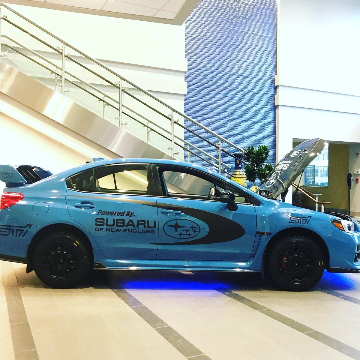 Subaru Of New England >> Subaruofnewengland On Twitter New Lobby Centerpiece Here