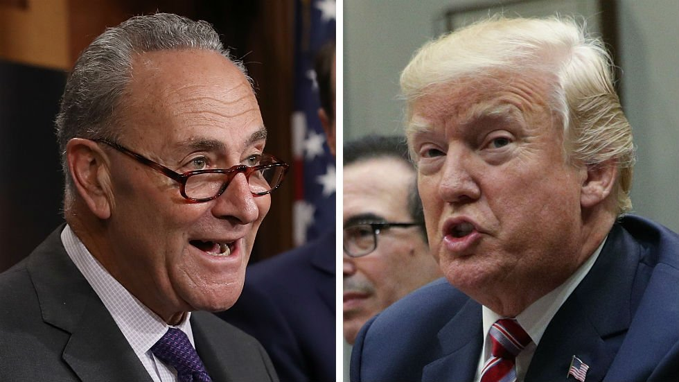 #BREAKING: Schumer withdraws offer to pass funding for Trump's border wall https://t.co/m6srZhFYod