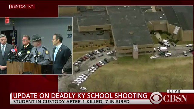 WATCH LIVE: Kentucky Gov. Matt Bevin, other officials give an update on the deadly high school shooting https://t.co/RUc1I9WBbs