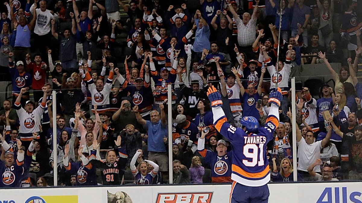 The #Isles are closing in on an agreement to play a mix of their regular-season games at Barclays Center and Nassau Coliseum in the years leading up to the opening of their new Belmont arena, according to a source https://t.co/VgYlgkHbkq