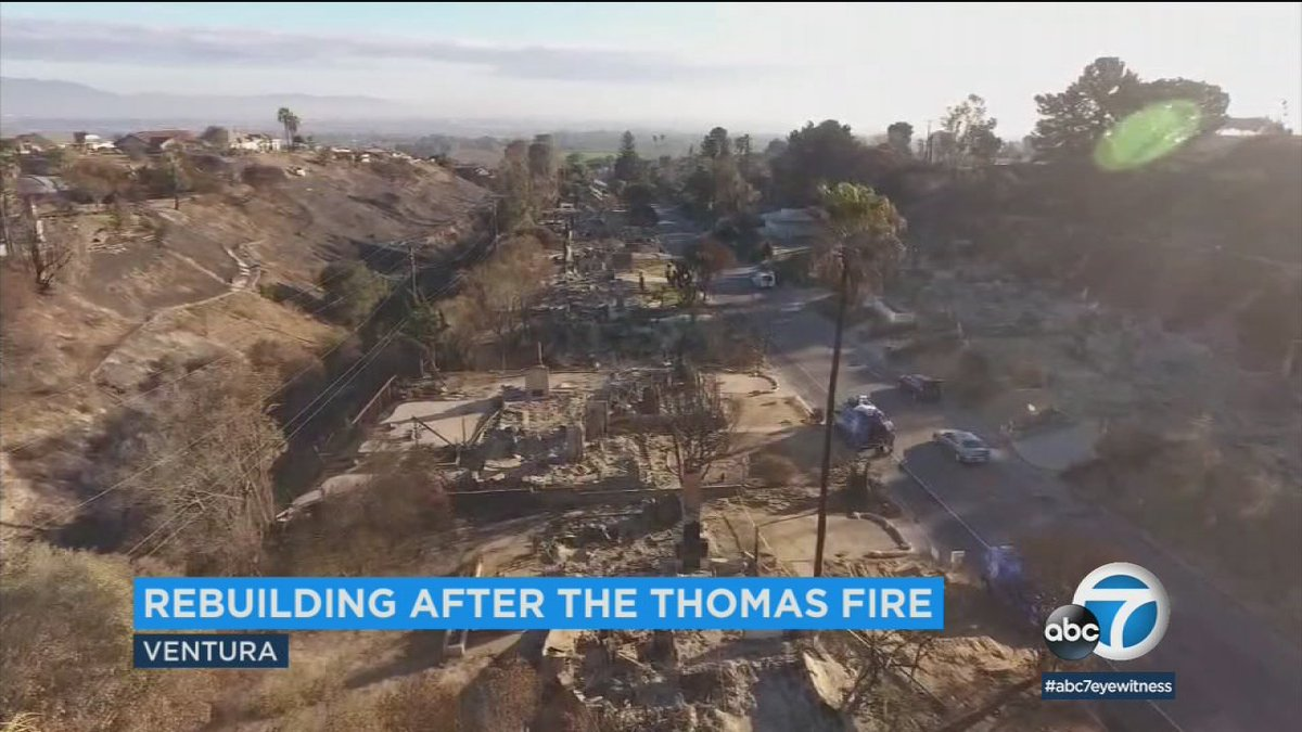 City of Ventura, FEMA offering help to residents, businesses in rebuilding after #ThomasFire https://t.co/agRxs8KPVV