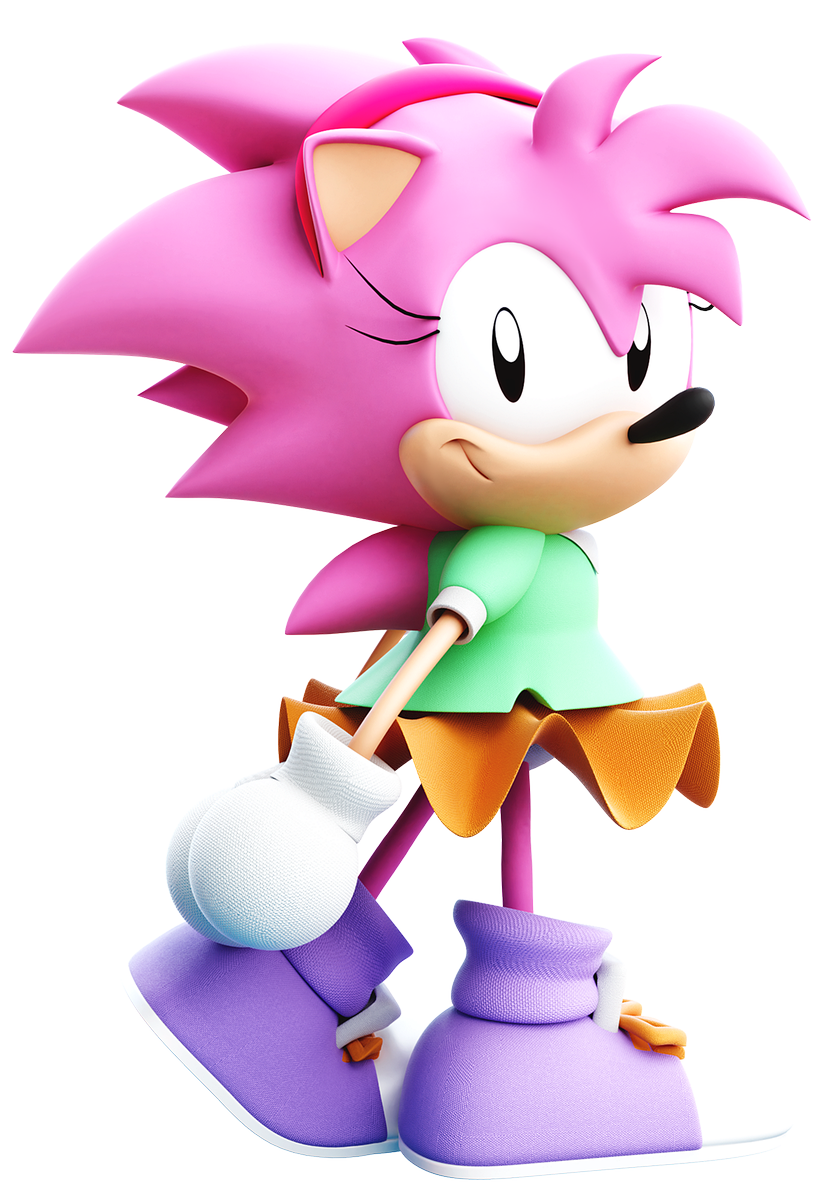"Amy Wip active] lixes the prototype on twitter: ""[sonic cd] amy rose"