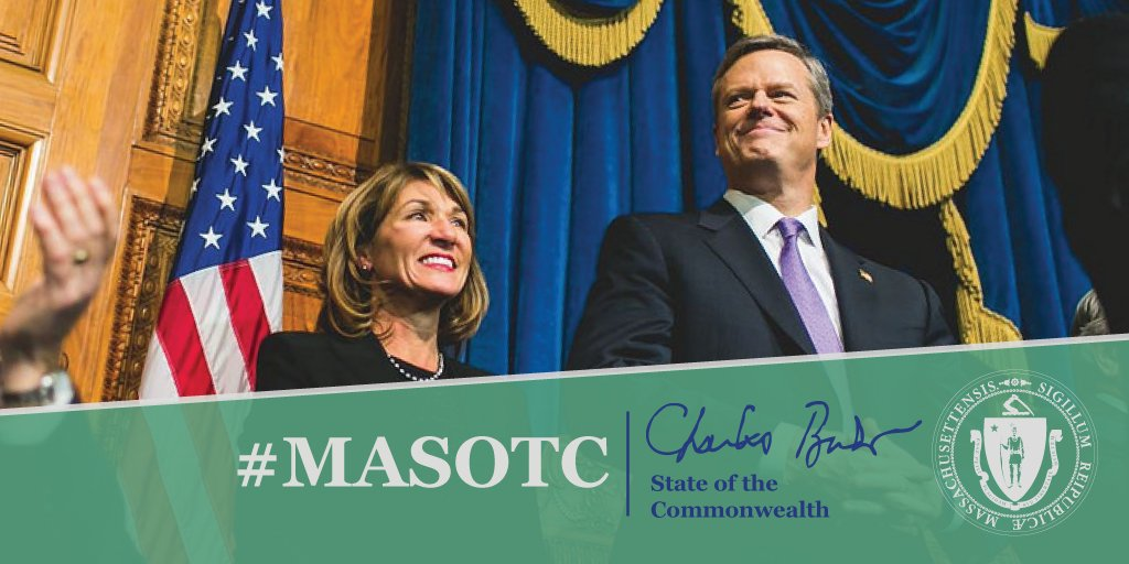 When @MassLtGov & I began this journey 3 years ago, we set out to create a state government that worked well for the people who needed it most, and would be as creative, thrifty & hard-working as the people of MA. While much remains to be done, we've made great progress. #MASOTC