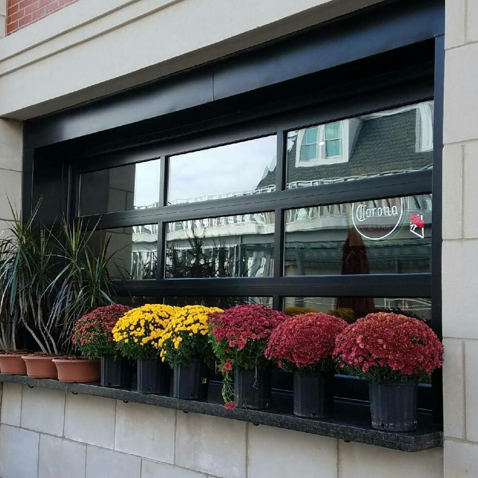 Britt And Tilson On Twitter Bronze Garage Door Style Window With