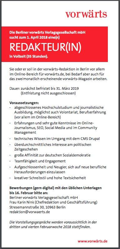 Dominik Schottner On Twitter Voll Geil Vom At Vorwaerts Einen Job