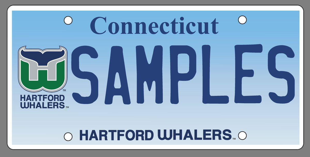 Connecticut unveils license plate for team that left 20 years ago https://t.co/AfKQ1Rp9r7 #7News