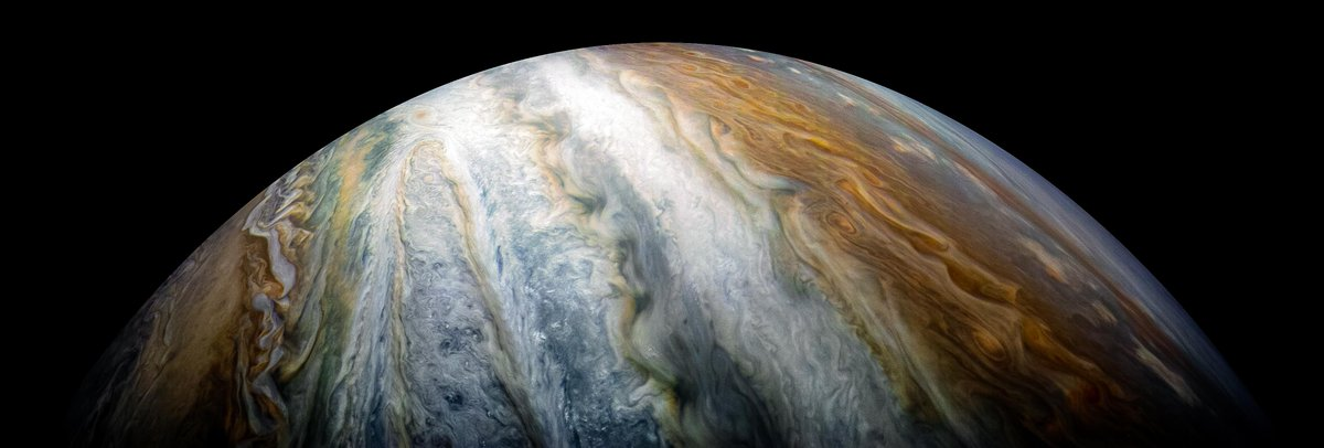 In case you need a new screensaver, here's Jupiter through Juno's unique eye.
