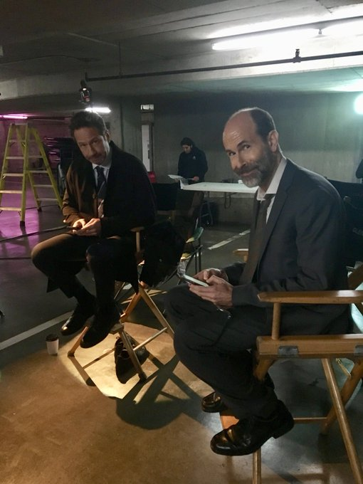 Tomorrow: double trouble. #bts #TheXFiles https://t.co/Mt6Wbscmgw