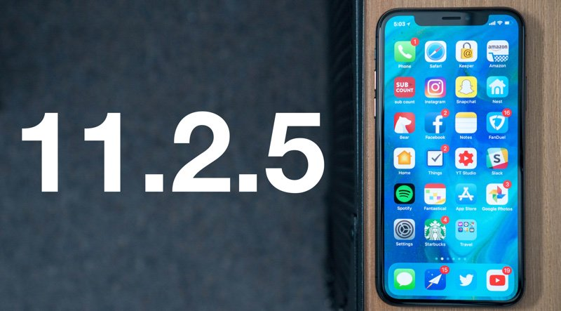 Everything New in iOS 11.2.5: Siri Audio News, HomePod Support, New Control Center Music Interface and More https://t.co/WsNGHJWUwI by @julipuli