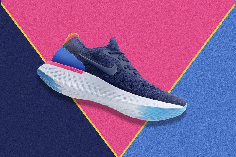 Nike's new Epic React Flyknit sneaker takes a major shot at the competition https://t.co/9X23fpRB4g