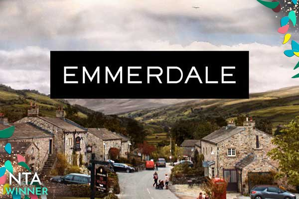 Big congratulations to @emmerdale for winning the award for best Serial Drama #NTAs #NTAs2018