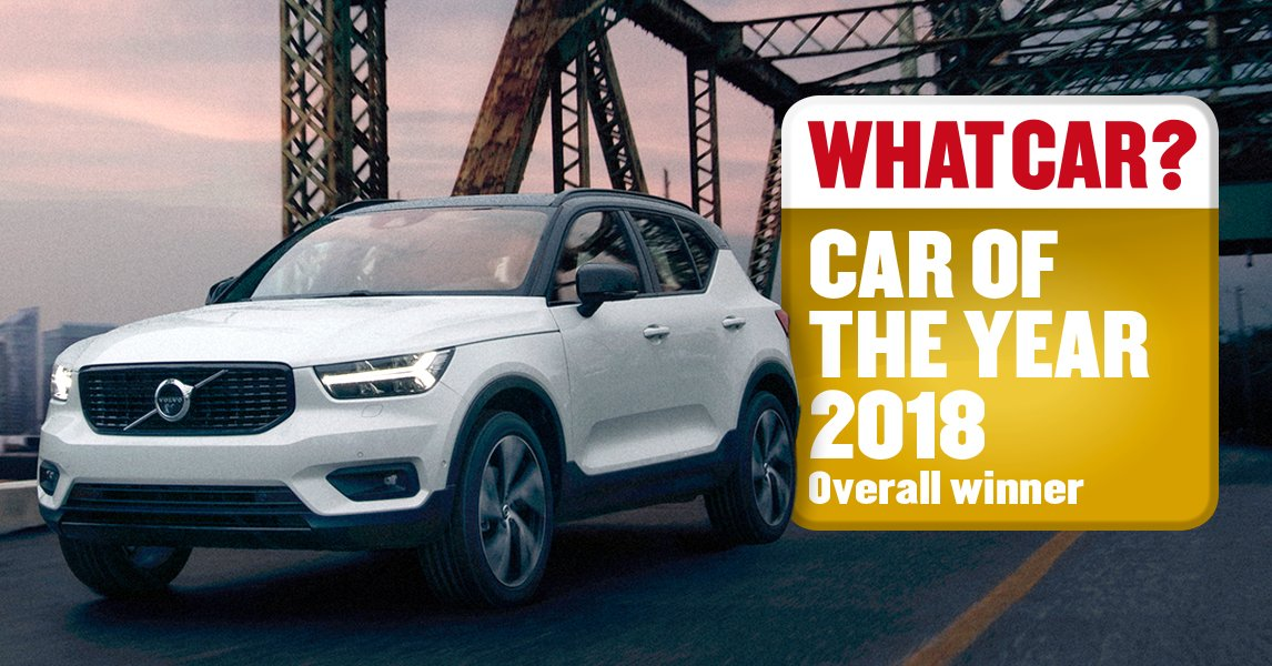 Volvo Car Uk On Twitter News The Xc40 Has Won Whatcar Of Year 2018 Whatcarawards