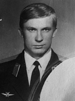 Soviet Lt. Viktor I. Belenko carried two personal items – the military identity document & a knee-pad notebook with flight data – on his dramatic flight to freedom in a MiG‑25 Foxbat fighter from the USSR to Japan in 1976.