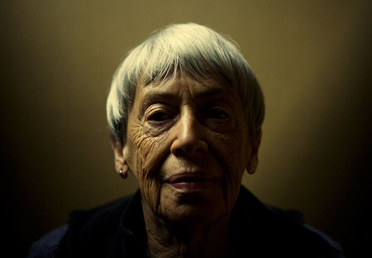 """We live in capitalism. Its power seems inescapable. So did the divine right of kings. Any human power can be resisted and changed by human beings. Resistance and change often begin in art, and very often in our art, the art of words."" — Author Ursula Le Guin has died at age 88"