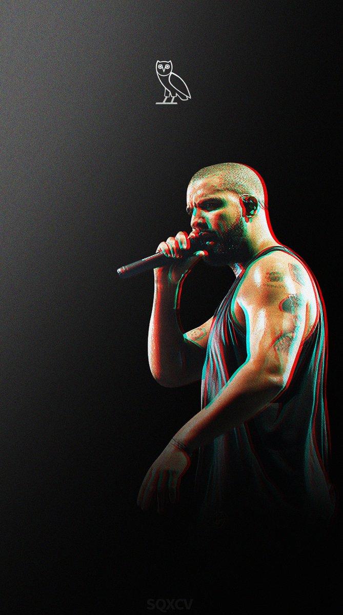 Drake x OVO Wallpaper 👌 #Photoshop #Drake #OVO #ScaryHours