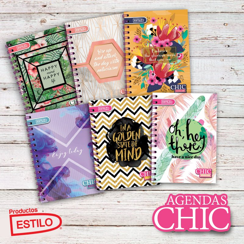 ¿Ya tiens tu agenda Chic? ¿Cuál es tu favorita? https://t.co/szSbaZD0RV