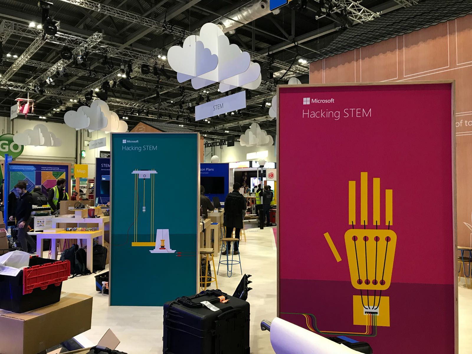 Microsoft Hacking Stem On Twitter Hackingstem Booth At Bett 2018 Is All Set Our Innovators Teachers And Software Experts Have Partnered Yet Again To Bring You A Lesson That Democratizes Stem Catch Us Live On The Bett Floor Or Catch Us Here