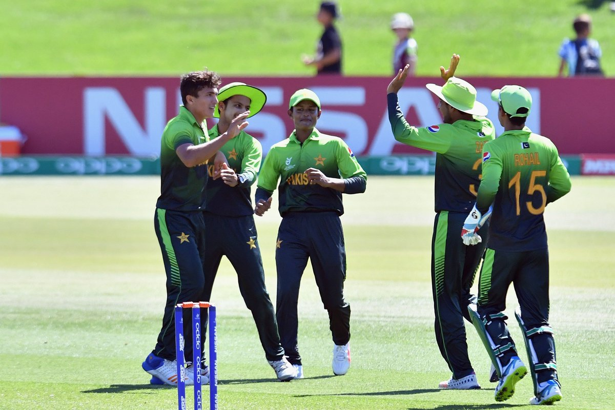 ICC U-19 World Cup 2018: Pakistan Qualify for Semis With Thrilling Win Over South Africa 2