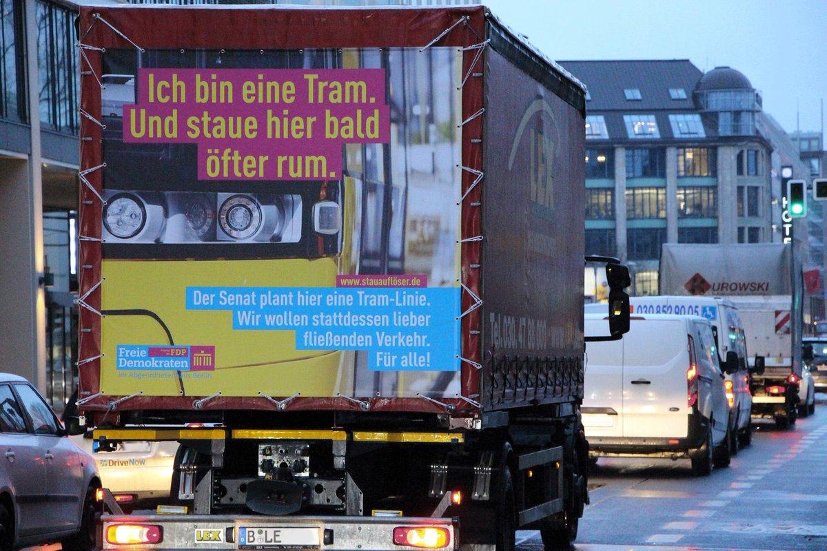 Fdp Fraktion Berlin On Twitter Eine Straßenbahn Linie Auf Der