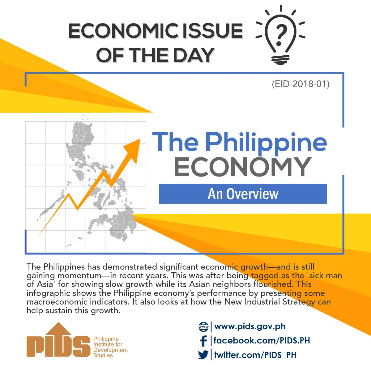 an overview of the economy in philippines The philippines has a status of emerging economy in recent years philippines gdp growth rate - actual data, historical chart and calendar of releases.